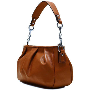 leather hobo satchel shoulder bag floto