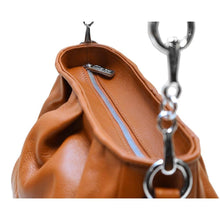 Load image into Gallery viewer, leather hobo crossbody floto firenze