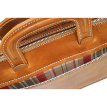 Load image into Gallery viewer, leather laptop sleeve milano portfolio floto