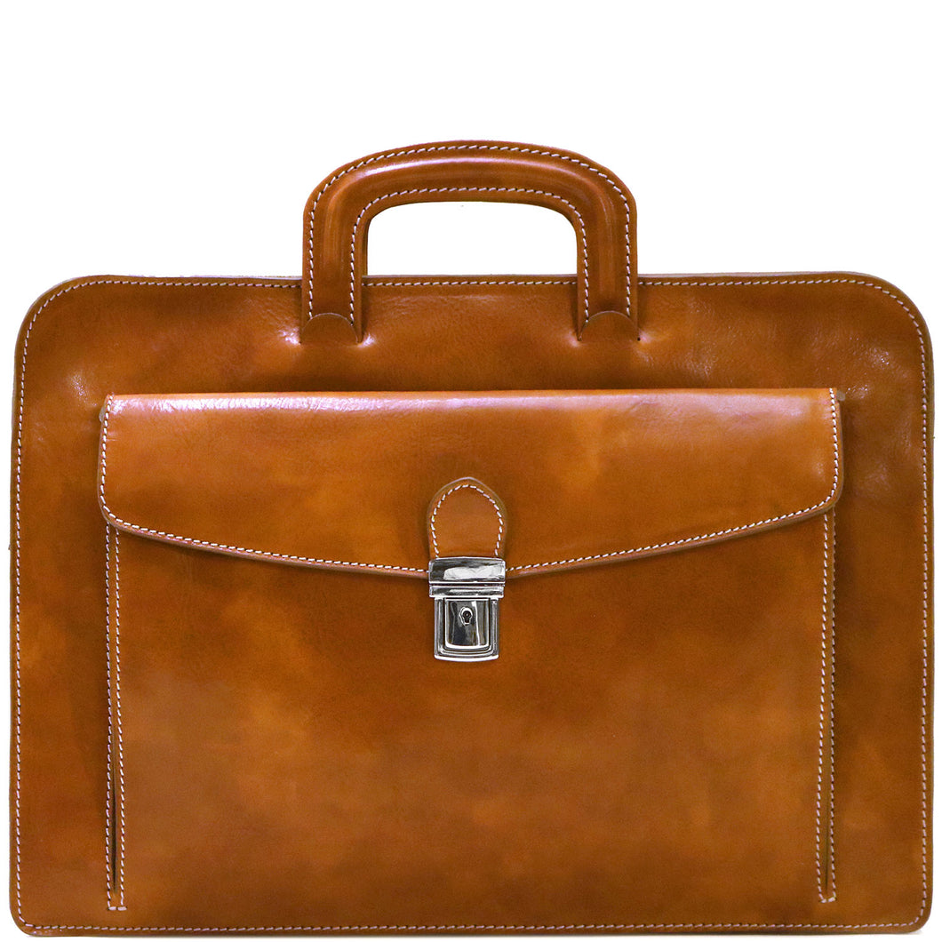 leather laptop sleeve milano portfolio floto