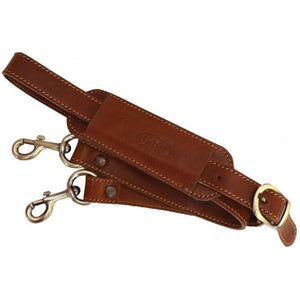 floto leather replacement luggage bag strap brown