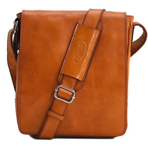 leather messenger satchel floto siena field bag olive brown