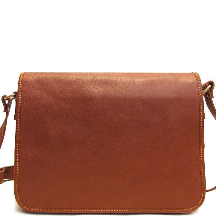 Floto Italian leather messenger bag briefcase men's bag Toscana