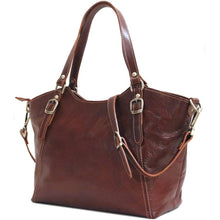 Load image into Gallery viewer, floto leather handbag ischia