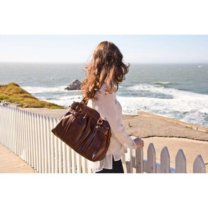 leather shoulder bag milano floto