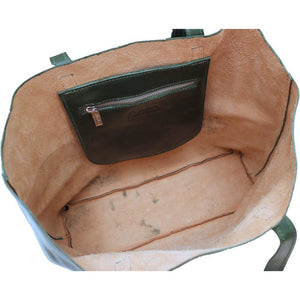 leather shoulder tote bag floto piazza