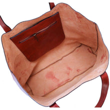 Load image into Gallery viewer, leather shoulder tote bag floto piazza