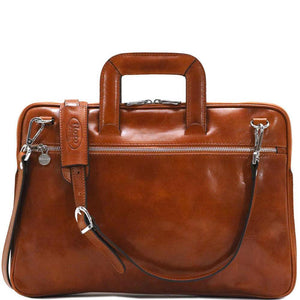 leather slim briefcase firenze floto