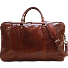 Load image into Gallery viewer, monogram leather suitcase duffle bag floto