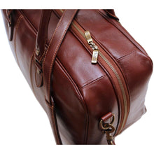 Load image into Gallery viewer, Leather Suitcase Duffle Bag Venezia