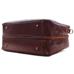 Leather Suitcase Duffle Bag Venezia