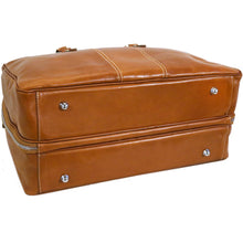Load image into Gallery viewer, Floto Italian Leather Suitcase Duffel Bag Venezia Tempesti monogram 3