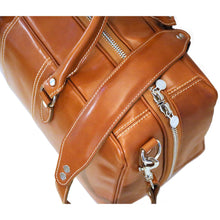 Load image into Gallery viewer, Floto Italian Leather Suitcase Duffel Bag Venezia Tempesti 5