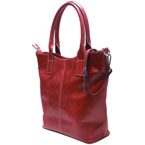 leather tote bag floto ischia