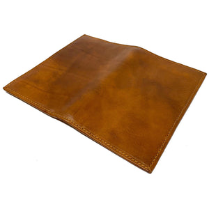 Floto Italian Leather Long Wallet Breast Pocket Venezia brown tobacco 5