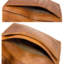 Load image into Gallery viewer, Floto Italian Leather Long Wallet Breast Pocket Venezia brown tobacco 3
