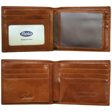 Load image into Gallery viewer, Leather I.D. Window Wallet Floto Roma inside