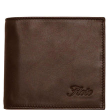 Load image into Gallery viewer, Floto Italian Leather Napoliy Coin Wallet men's brown