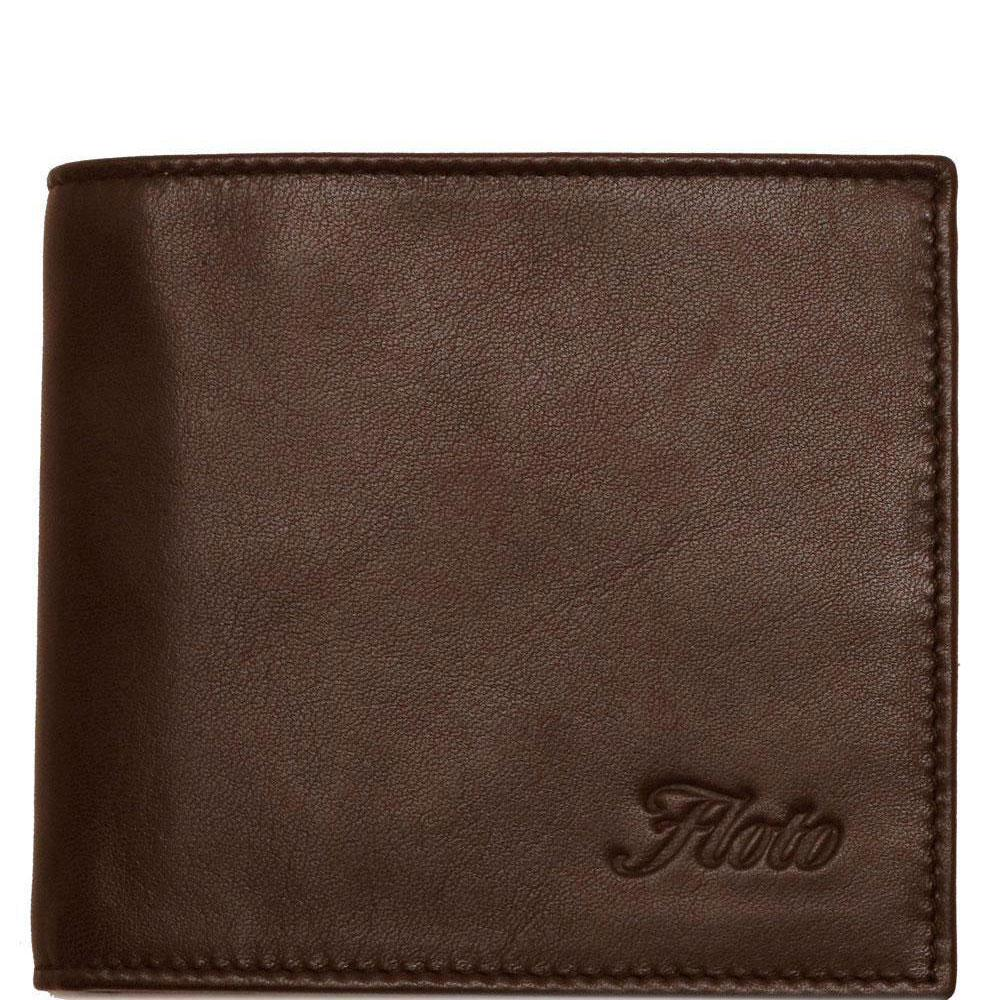 Floto Italian Leather Napoliy Coin Wallet men's brown