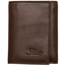 Load image into Gallery viewer, Leather Wallet Napoli Floto brown