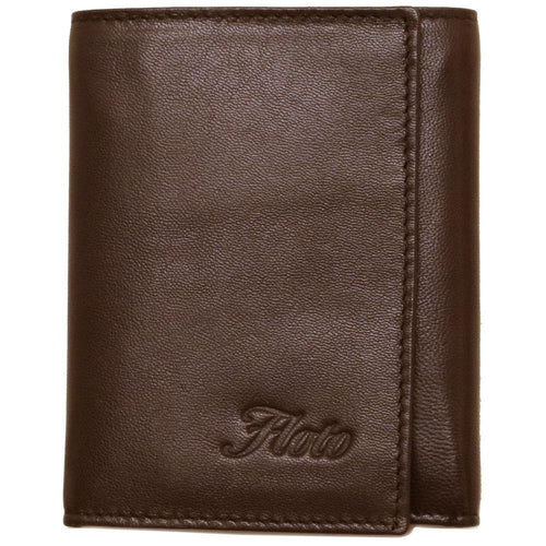 Leather Wallet Napoli Floto brown