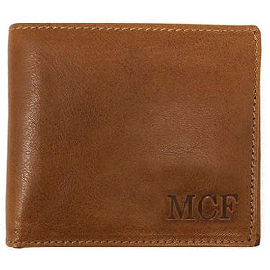 Leather Wallet Floto Venezia tan monogram