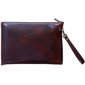 Floto Italian Leather Portofino Padfolio Portfolio Case brown