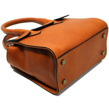 Load image into Gallery viewer, Leather Handbag Italian Floto Rapallo Mini Women's Bag light brown 2