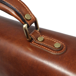 Leather Briefcase Floto Duomo Attache Large Men's Leather Bag brown 6