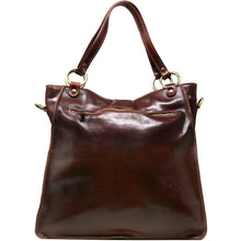 Load image into Gallery viewer, Floto Italian Leather Shoulder Tote Bag Women's Livorno brown 2