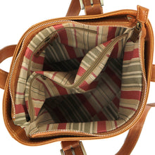 Load image into Gallery viewer, Italian Leather Shoulder Bag Women's Crossbody Floto Tavoli Brown 3