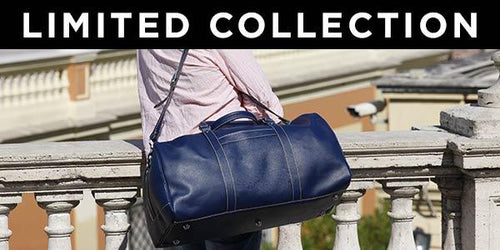 Floto Limited Edition Leather Travel Duffle Bags