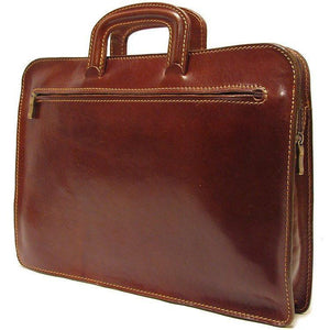 leather laptop sleeve portfolio floto