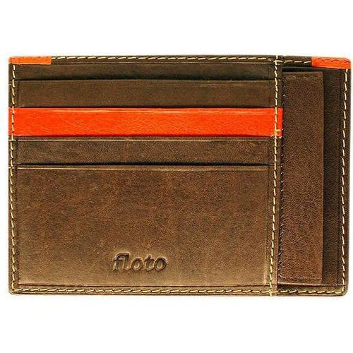 leather card case wallet floto