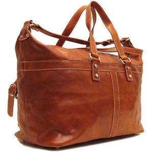 Floto Milano Italian Leather Travel Bag Weekender Suitcase