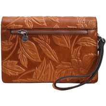 Load image into Gallery viewer, leather handbag satchel wristlet floto