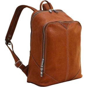 leather backpack parma floto