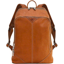 Load image into Gallery viewer, leather backpack parma floto monogram