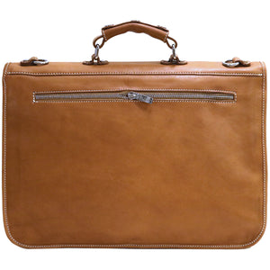 leather messenger bag parma floto