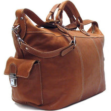 Load image into Gallery viewer, Floto Italian Parma Leather Travel Tote Duffle Bag 2