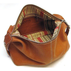 Floto Italian Parma leather dopp kit toiletry bag brown 4