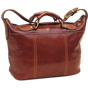 Floto Italian Leather Handbag Piana Mini Women's Bag brown 2
