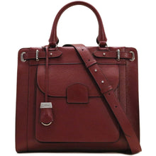 Load image into Gallery viewer, Leather Tote Bag Handbag Rapallo Floto red