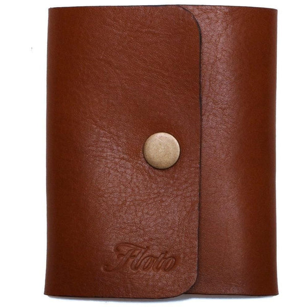 leather snap wallet floto