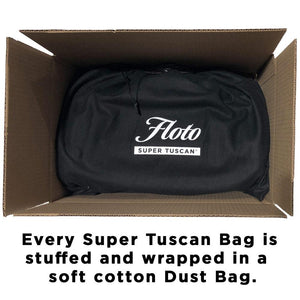 Super Tuscan Leather Duffle Bag Floto Packaging