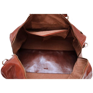 Super Tuscan Leather Duffle Bag Floto #1