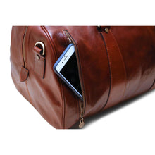Load image into Gallery viewer, Super Tuscan Leather Duffle Bag Floto #1