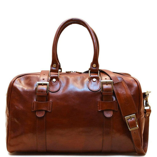 Super Tuscan Leather Duffle Bag Floto #3