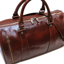 Load image into Gallery viewer, Super Tuscan Leather Duffle Bag Floto #2