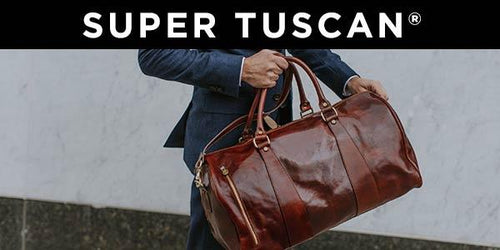 Floto Super Tuscan Italian Leather Duffle Bags